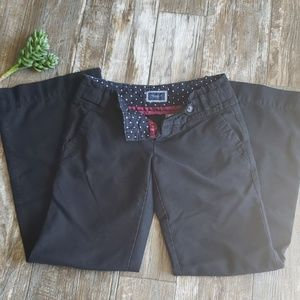 American Eagle Dark Blue Pants w/ Flare